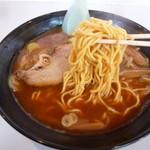 味乃やまびこ - 加藤ラーメンの旭川麺