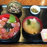 居酒屋三つ葉 - マグロ丼定食 980円