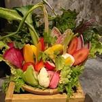 82945716 - 生野菜15種盛り