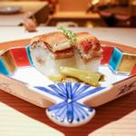 お料理 志ぶう - 穴子寿司