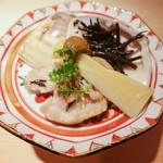 お料理 志ぶう - 筍と蛤