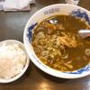 えびす屋 - 料理写真:カレーラーメン(ライスはサービス)