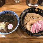 中華蕎麦うゑず - 料理写真:味玉つけめん(小)