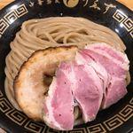 中華蕎麦うゑず - つけめんの麺 (小)