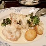 Little chef - さつま錦鶏のフリカッセ 1,800円