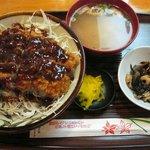 8295551 - みそカツ丼 550円 (日替わりランチ)