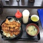 資さんうどん - チキンソースカツ丼@600