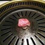 焼肉 牛之助 - 「とうがらし」からスタートです