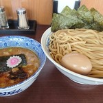 82951909 - 味玉つけめん¥850+麺大盛り(450g)¥100+のり5枚¥50