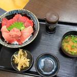 まぐろや - 料理写真:マグロ一筋丼 1200円