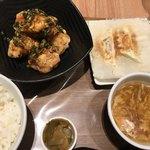 西安健菜キッチン - 油淋鶏セット