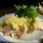 楽関記 - むし鶏(コース料理)