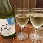 とりだん - 白ワイン