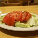 おばこ - トマトサラダ 400円