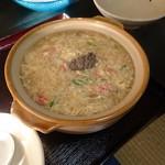 安安 - 蟹飯麺 カニ味噌あり