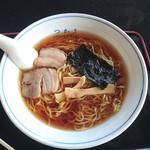 つかさ・麺・味・宴 - ら~麺(ネギ抜き)500円