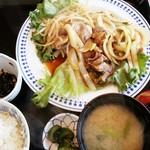 82961909 - ジンギスカン定食 1,200円