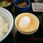 なか卯 - 料理写真:朝まぜごはん納豆定食、御飯大盛り。