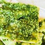 インド料理 ドルーガ - 中には鶏ミンチ&ほうれん草ペースト&チーズ