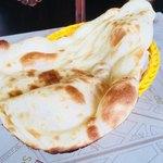 インド料理 ドルーガ - プレーンナン。安定のおいしさ。