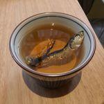トヤマバー - 氷見いわしの煮干のだし汁