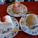 ランギャール - ショートケーキなど