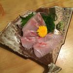 いろり - 真鯛の刺身