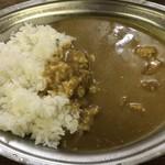 ジューン - ポークカレー(並) ¥750