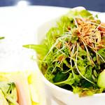 サンドウィッチ ルマン - 野菜もいっぱいで嬉しい♪