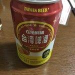 台湾料理 光春 - マンゴービールです