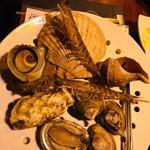 目の前で海鮮蒸しが楽しめるお店 魚い魚い -