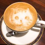 カフェ ルーチェ はなみずき - ドリンク写真:カワイイ!アートラテ!!