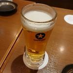 すきずき - 生ビール