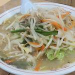 ラーメンショップぽん太 - 塩野菜ラーメン 2013.06