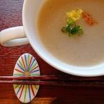 菜食 左ェ門 - おろしれんこんスープ