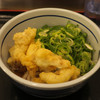 おにやんま - 料理写真:冷[並盛]とり天ぶっかけ420円、ネギ増量50円