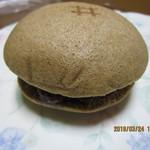 井筒屋 - 「黒糖蒸しどら(小倉あん クリームちーず)170円」