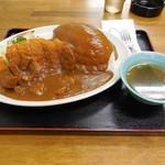 総理屋 - ..「カツカレライス(980円)」+「ご飯大盛り(150円)」、満腹!!!