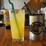 ライドダイナー - オレンジジュース