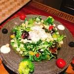 とっくり - 近江野菜のシーザーサラダ