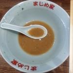 豚骨醤油ラーメン まじめ家 -