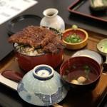 川勢 - ひつまぶし1800円