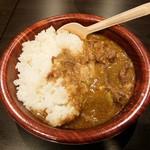 姫路宴会会場 本丸 - なぜかカレーも・・ 当然食べるよね! ww