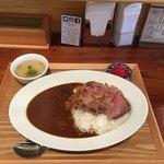 食堂 肉左衛門 - トンテキカレー  ¥900