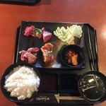 石屋 - カルビランチ  ¥1200