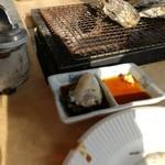 牡蛎処 桝政 - ちぎれた牡蠣