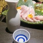 個室居酒屋×産直鮮魚 みくり - しゃぶしゃぶには日本酒