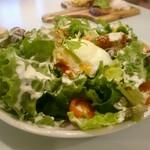 dammi - アボカドキムチのシーザーサラダ