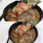 らーめん加茂川 - 海老味噌らーめん(1201円)