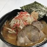 らーめん加茂川 - 海老の粉末